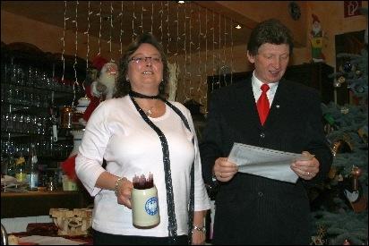 Weihnachtsfeier RV92 Schweinfurt 2009