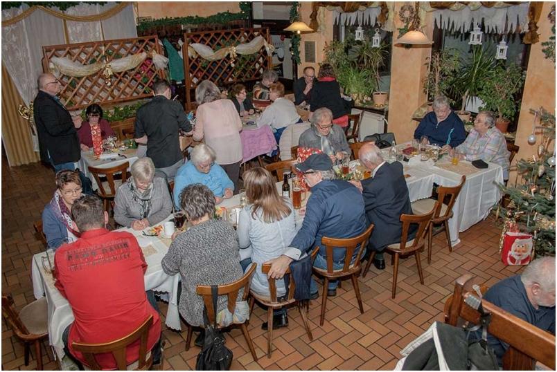 RV92 Schweinfurt Weihnachtsfeier 2016