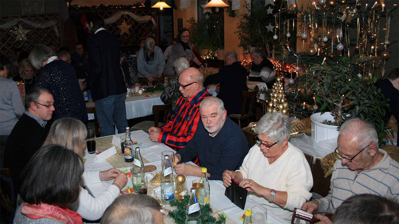 RV92 Schweinfurt Weihnachtsfeier 2017