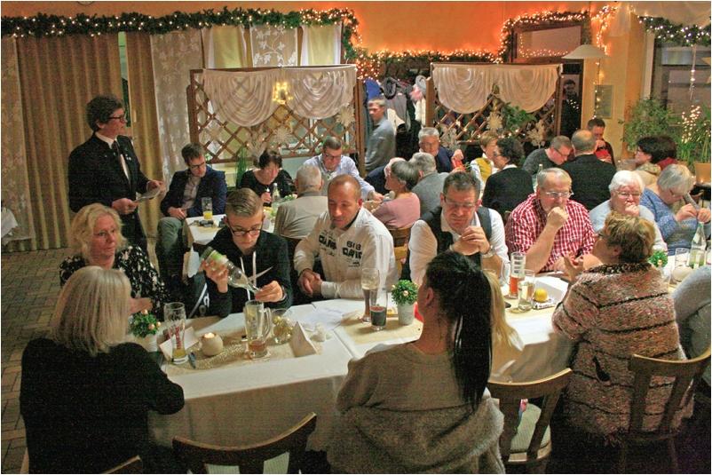 RV92 Schweinfurt Weihnachtsfeier 2019