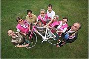 Schweinfurter Radfahrer in der Bild der Frau
