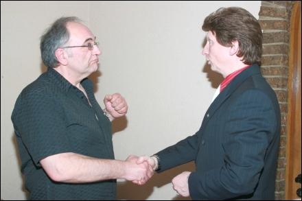 Der Schatzmeister und der 1. Vorsitzende